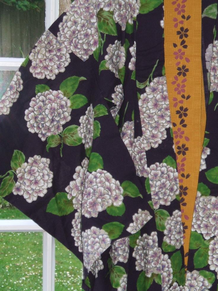 Gorgeous kimono fabric