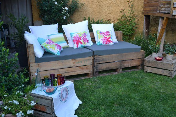 17 meilleures images propos de caisse xxl salon de jardin id es sur pinterest. Black Bedroom Furniture Sets. Home Design Ideas