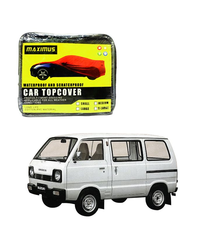 Suzuki Carry Maximus Non Woven Car Cover - Model 1979-2017  Delivery available worldwide.  Have a Question: +923111222357
