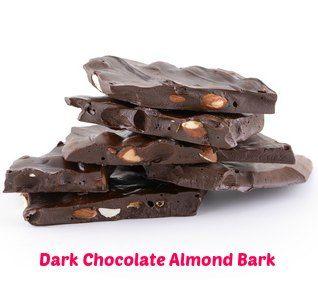 dark chocolate almond bark recipe- yummy!
