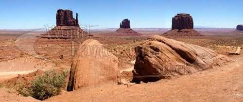 USA - Monument Valley, the Mittens