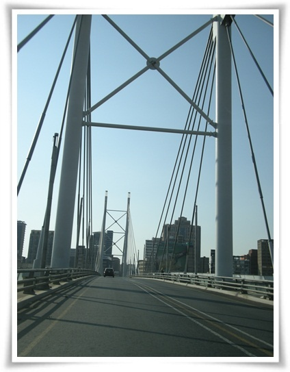 Nelson Mandela Bridge  Johannesburg,  SOUTH AFRICA