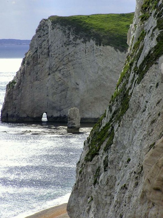 Dorset Coast, England - Click image to find more Travel & Places Pinterest pins