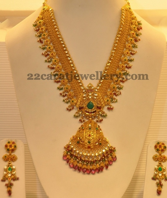 Antique Bridal Haram with Hangings