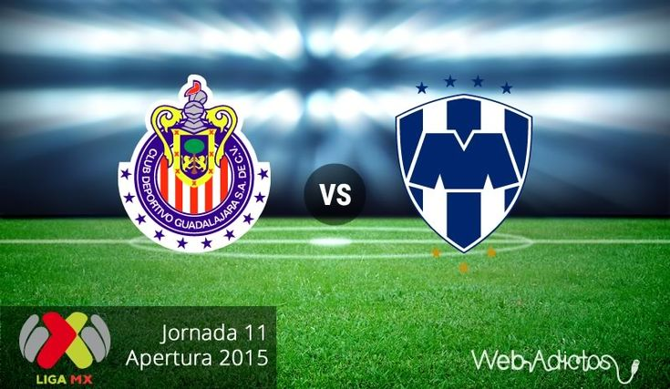 Chivas vs Monterrey, Fecha 11 del Apertura 2015 ¡En vivo por internet! - http://webadictos.com/2015/09/29/chivas-vs-monterrey-apertura-2015/?utm_source=PN&utm_medium=Pinterest&utm_campaign=PN%2Bposts