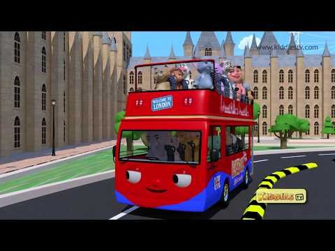 Wheels on the bus london city takes you on a ride with you favorite friends across london on a red bus. Enjoy the song with your friends !