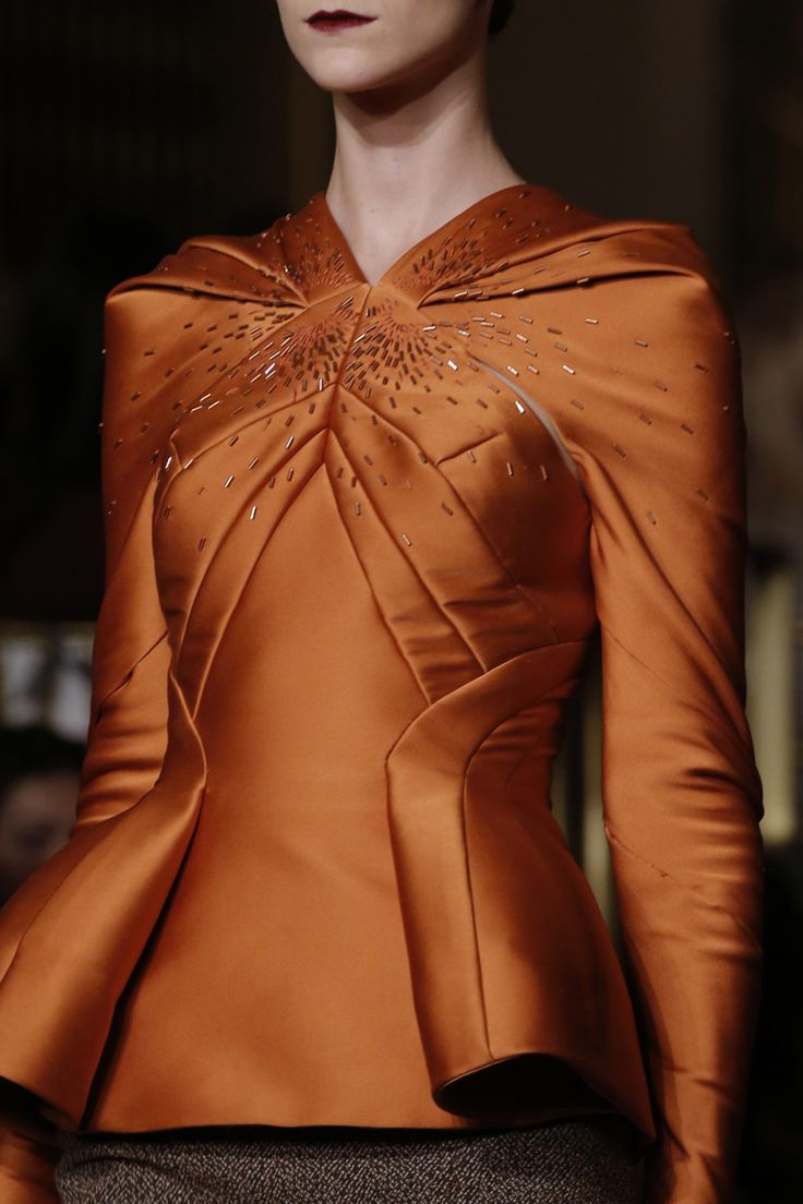 Zac Posen 2013 fashion week. I love his structure