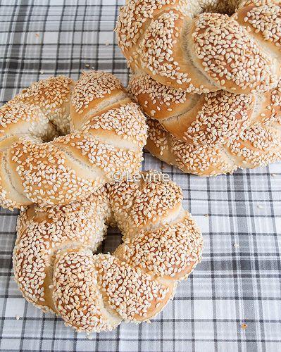 Recept Simit - Turkse bagels