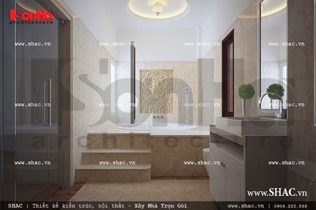 Nội thất phòng tắm cổ điển đẳng cấp