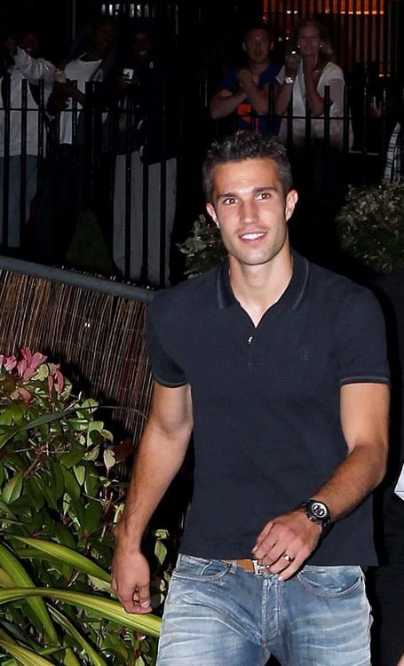 Robin van Persie...it's all about these Dutch boys ....who just happens to play for manchester united