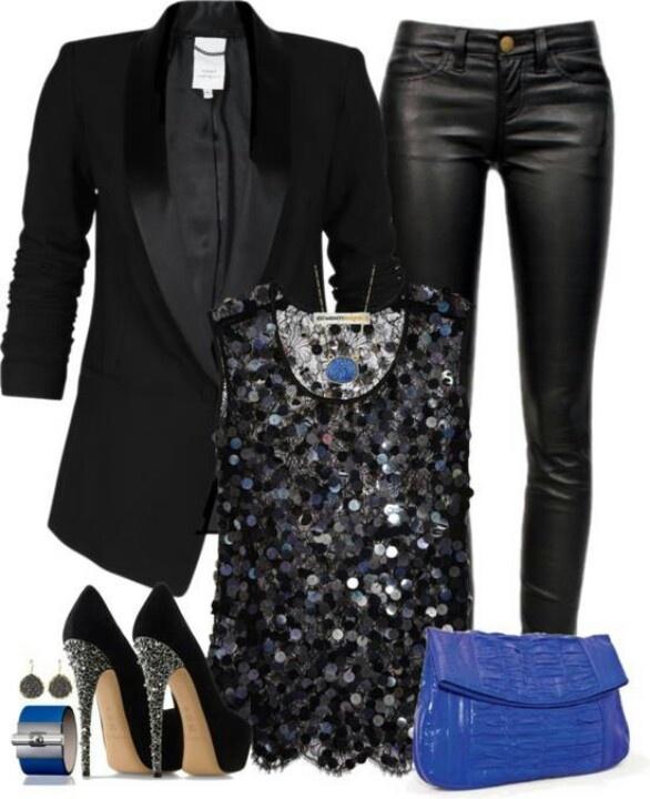 <3 leather leggings
