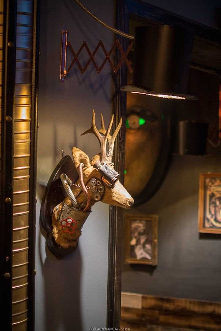 Romanian Steampunk Bar Joben Bistro May Be the Coolest Bar Ever