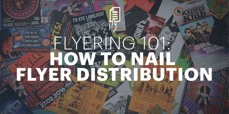 So you've got a great flyer idea. You've designed it for free in Lucidpress. Now all you need is an audience—but do you understand Flyering 101?