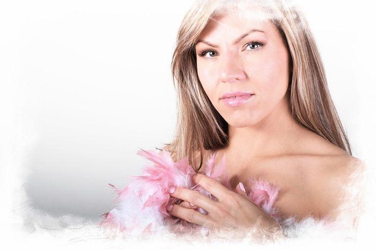 Žena v rúžovom / Lady in the pink, Author: Daniel BORIS