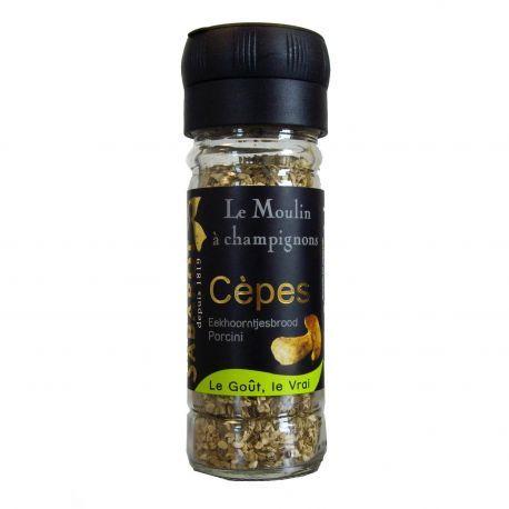 Moulin à champignons - cèpes Premium séchés 19g Sabarot