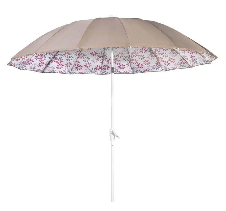 Parasol Robijn: weer eens wat anders dan de standaard parasol. Houd je tuin heerlijk koel tijdens zonnige dagen #tuin #tip