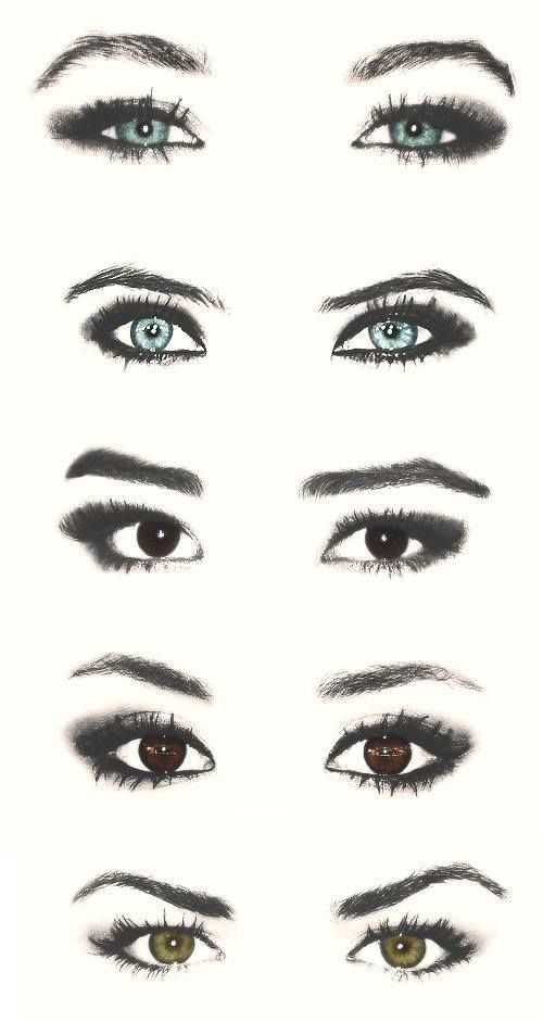 Is it wierd I can tell whose eyes are whose. Pll!!