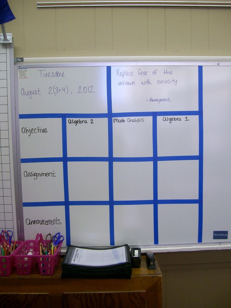 Some good ideas for getting my classroom ready
