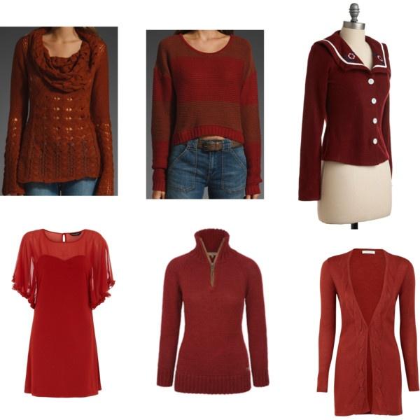 Dark Autumn Reds