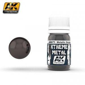 AK671 - METALLIC SMOKE