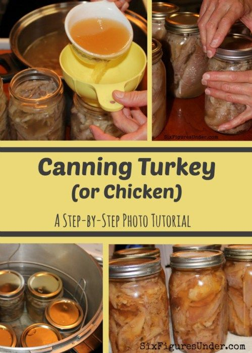 Bottling turkey meat is a great way to preserve meat for your food storage because it doesn't require a freezer. Here's a complete tutorial for canning turkey or chicken.