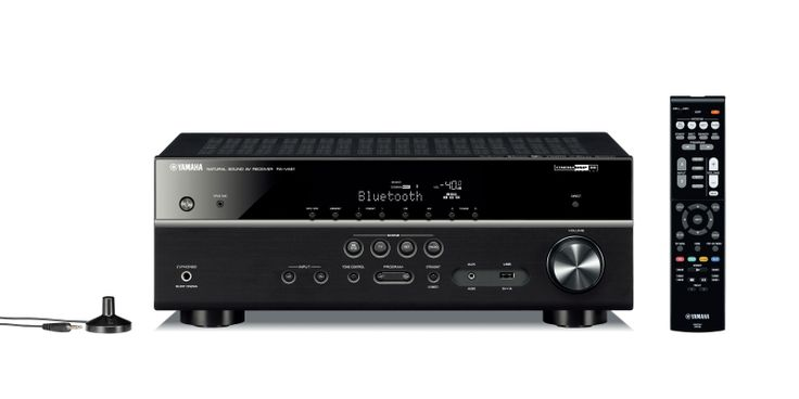 #TechTuesday - #Yamaha RX-V481 #AVReceiver for #HomeTheater | With #4K #UHD video upscaling, #HDMI, #WiFi, #Bluetooth, #AirPlay, and #DLNA, this 5.1-channel surround sound #networkedAVreceiver offers a great balance of must-have features & superb sound quality.  | Buy the best prices online in #India exclusively on #Ooberpad. Check it out here: https://www.ooberpad.com/collections/audio-video-receivers/products/yamaha-rx-v481-av-receiver