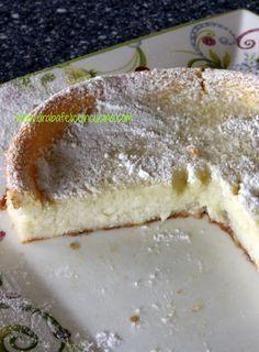 Arabafelice in cucina!: Torta...impossibile, al cocco e limone (senza lievito)