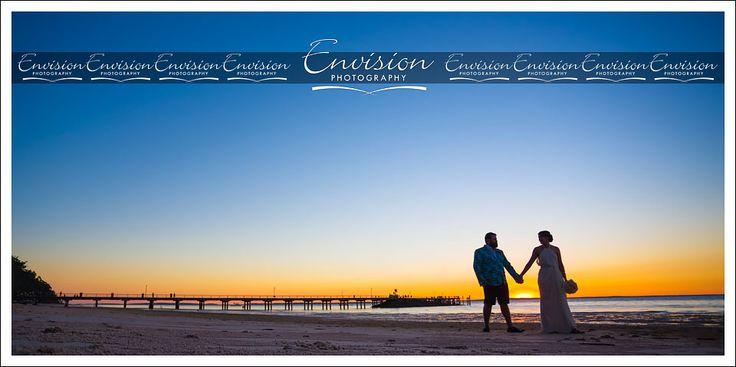 Wedding days at that famous Kingfisher Bay Resort Jetty! @kingfisherbay