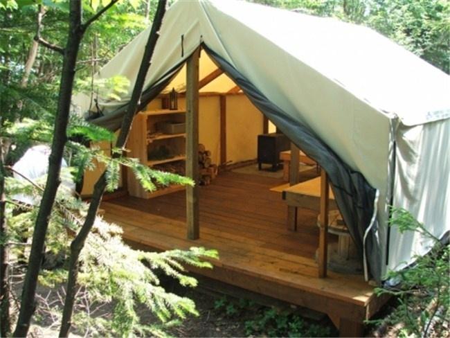 tent cabin & 11 best Fort Bragg platform tent/tent cabin images on Pinterest ...