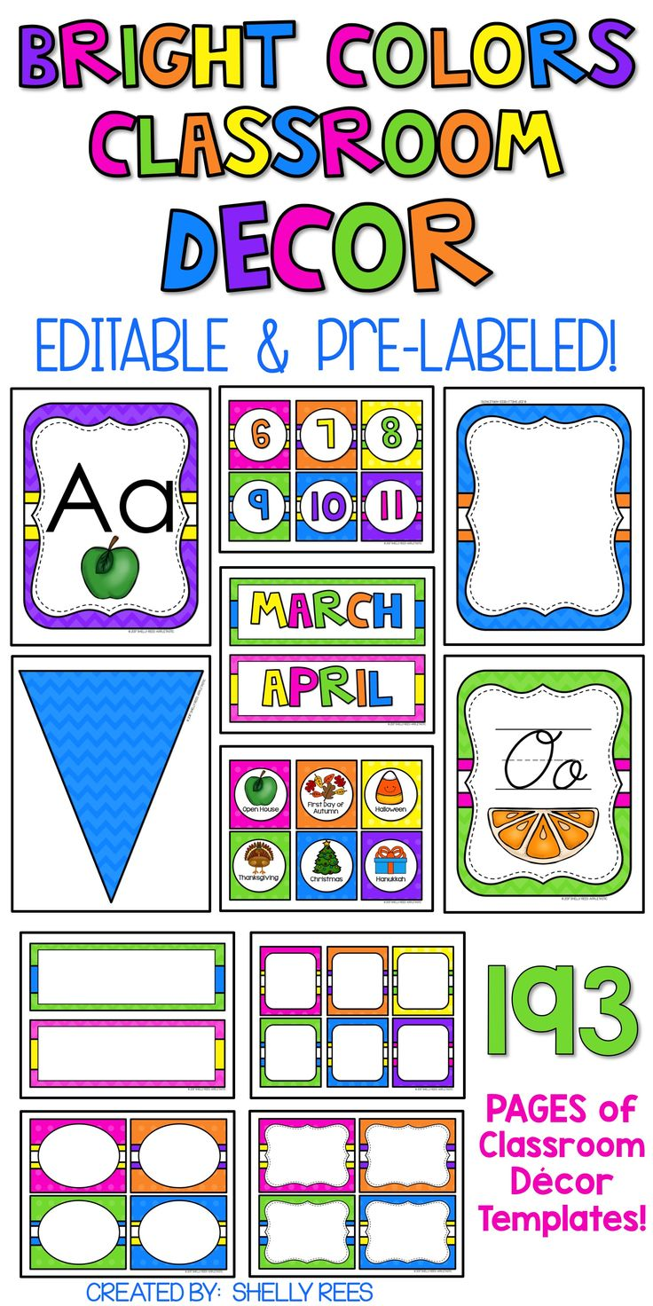Editable Classroom Decor ~ Best shelly rees teaching resources images on pinterest