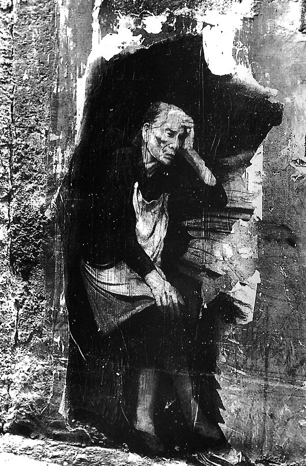 Naples - Ernest Pignon Ernest
