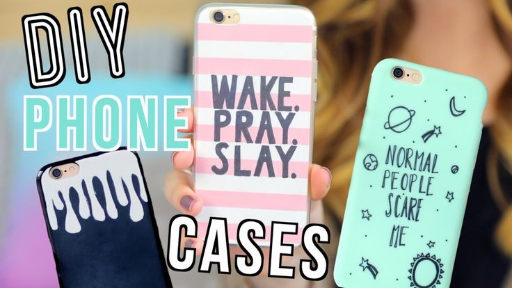 7 Easy DIY Phone Cases! - YouTube