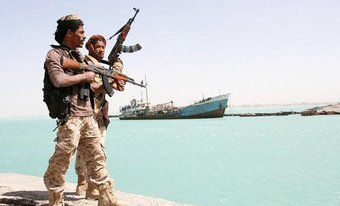 Oil tanker fired on off Yemen, says Saudi-led coalition. JEDDAH: An oil tanker has come under fire off Yemen while passing through the strategic Bab Al-Mandab strait into the Red Sea, a Saudi-led coalition supporting the Yemeni government said Thursday. The shipping lane connecting the Indian Ocean with the Suez Canal and the Mediterranean beyond is a key transit route for oil and gas from the Gulf, and Washington has expressed growing concern about its security.