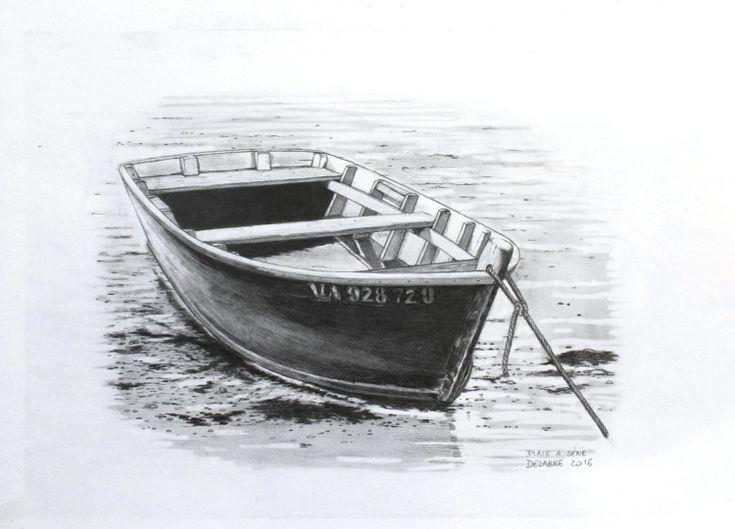 Dessin s n port anna bateau biarritz plate crayons - Dessin de bateau facile ...