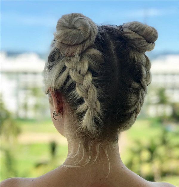 40 Easy Braided Hairstyles Ideas For Long And Medium ...