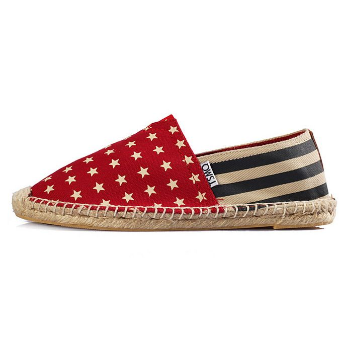 Toms Classic Women Shoes Red Spot Rope Sole [Toms026] - $26.00 : Toms Shoes