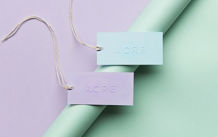 ACRE Interiors — Swing Tags