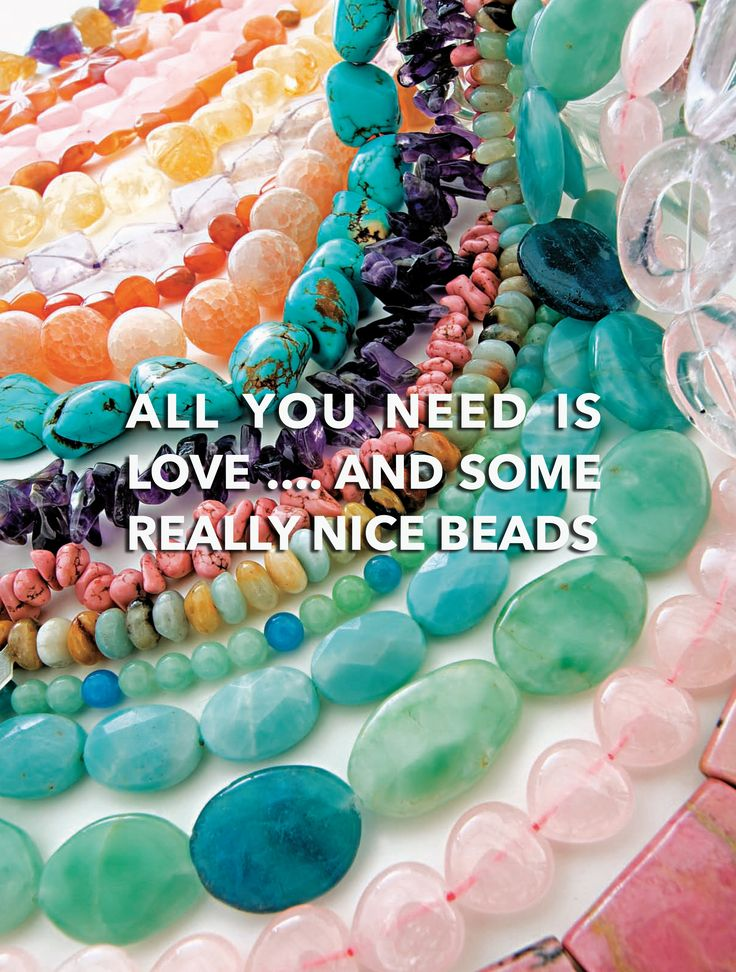 DIY: ALL YOU NEED IS LOVE... AND SOME REALLY NICE BEADS