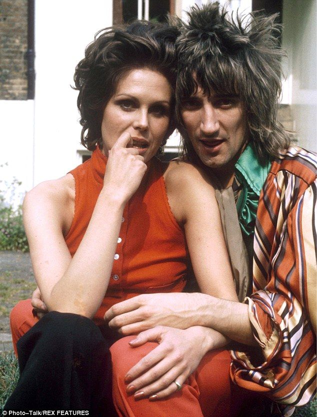 Opposites: Rod Stewart and Joanna Lumley you simply would not believe it would you?