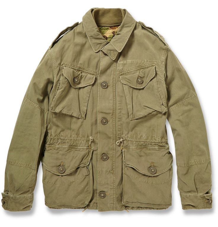 Polo Ralph Lauren - Cotton Combat Jacket | MR PORTER