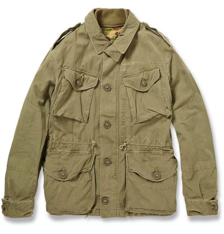 Polo Ralph Lauren - Cotton Combat Jacket MR PORTER