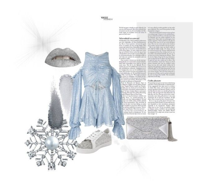 """""""Silver Heir"""" by mikaelajane17 on Polyvore featuring Bling Jewelry, Clé de Peau Beauté, Alice McCall and BCBGMAXAZRIA"""