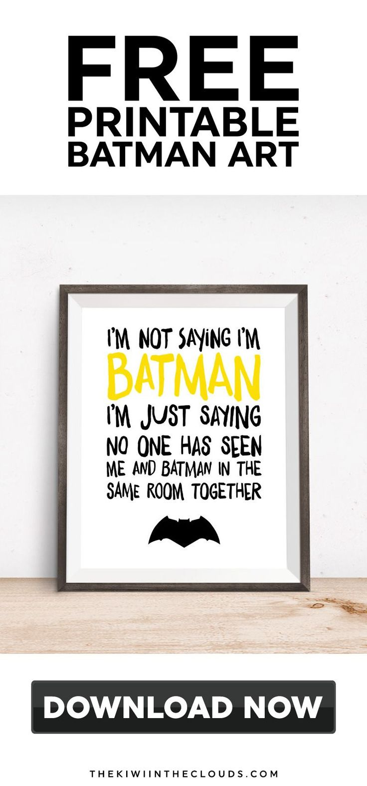 batman printable | nursery themes | kids rooms | free printables