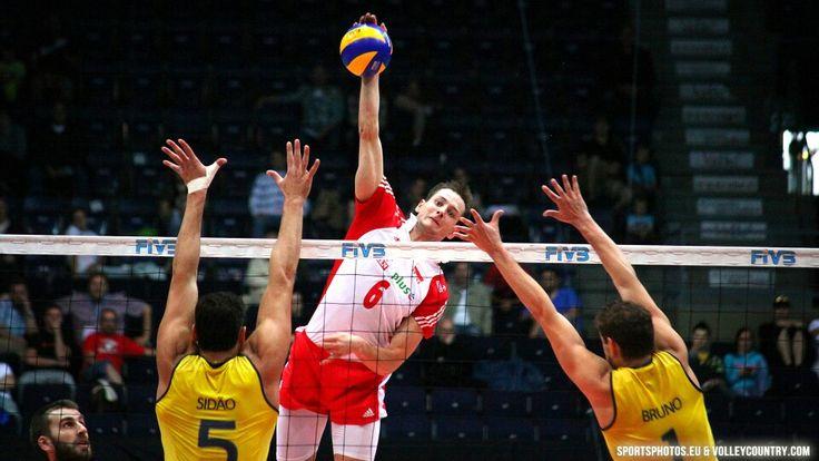 Bartosz Kurek vs Brazil #volleyball