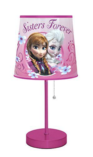 BUY NOW Disney Frozen Pink Table Lamp Brighten up your child s playroom or bedroom with this unique Disney Frozen Table Lamp. It