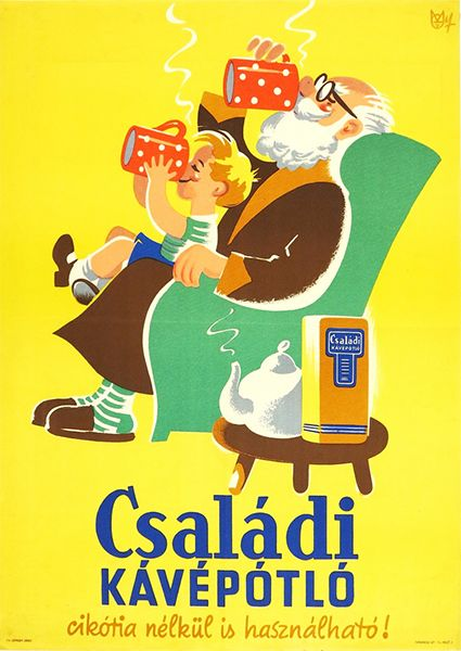Family coffee substitute | Budapest Poster Gallery
