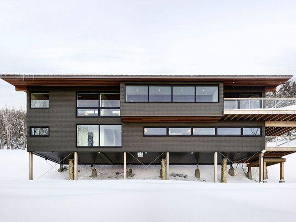 Nuevo Estilo Diseno Y Arquitectura Casa Tipo Loft Casas Loft Disenos De Casas