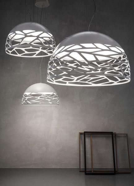 Футуристичные подвесные лампы Kelly от Studio Italia Design, уже в нашем шоу-руме.