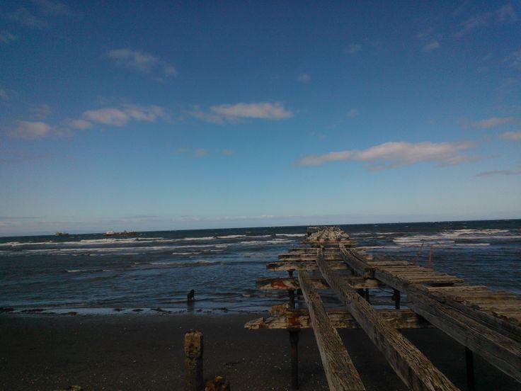 Canal de Magallanes. Punta Arenas. Chile.