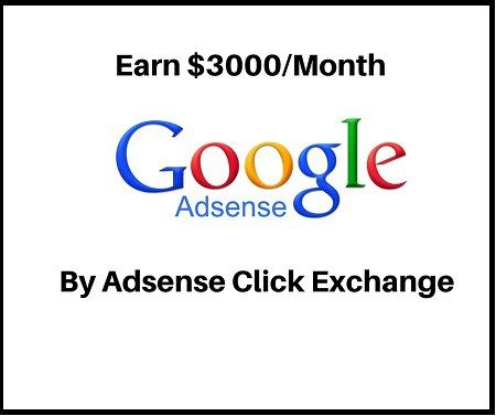 How You Can Eran 3000PerMonth By Adsense Exchange Program